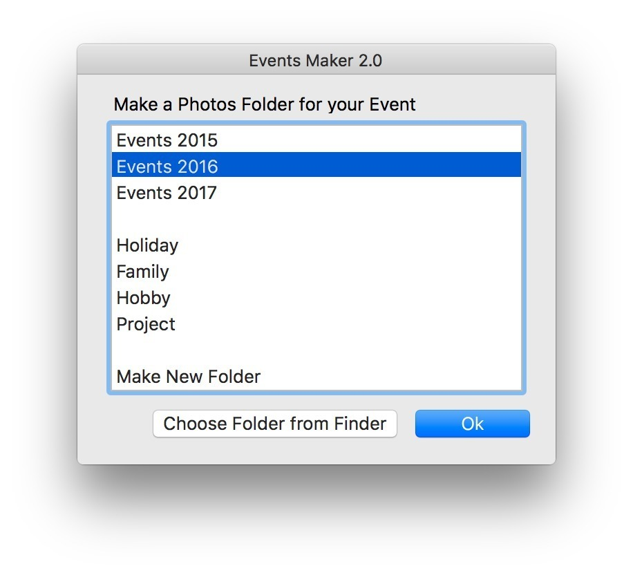 Screenshot 2 for Events Maker