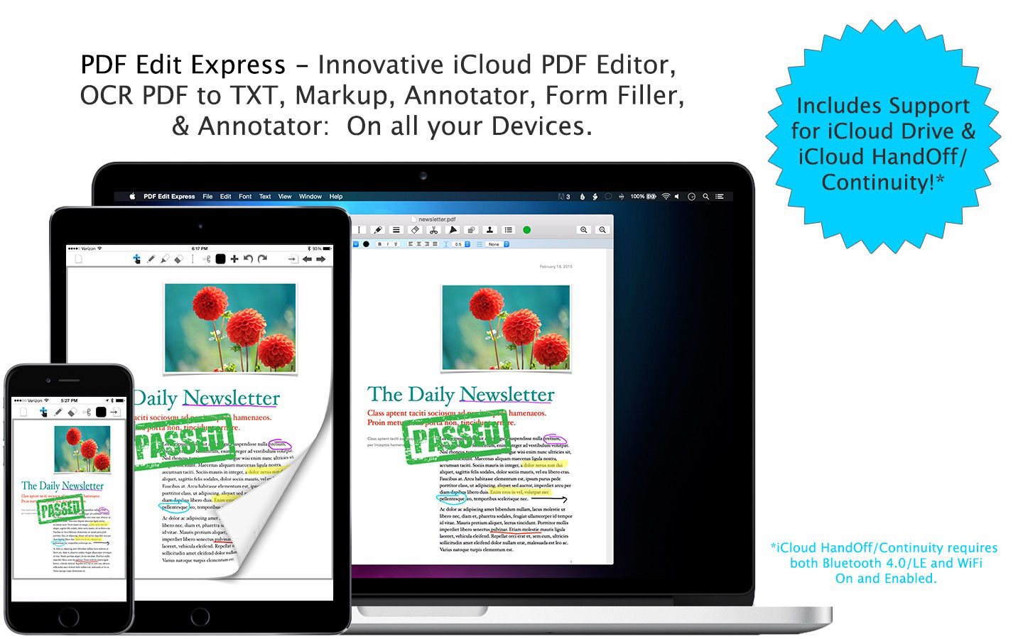 Screenshot 1 for PDF Edit Express