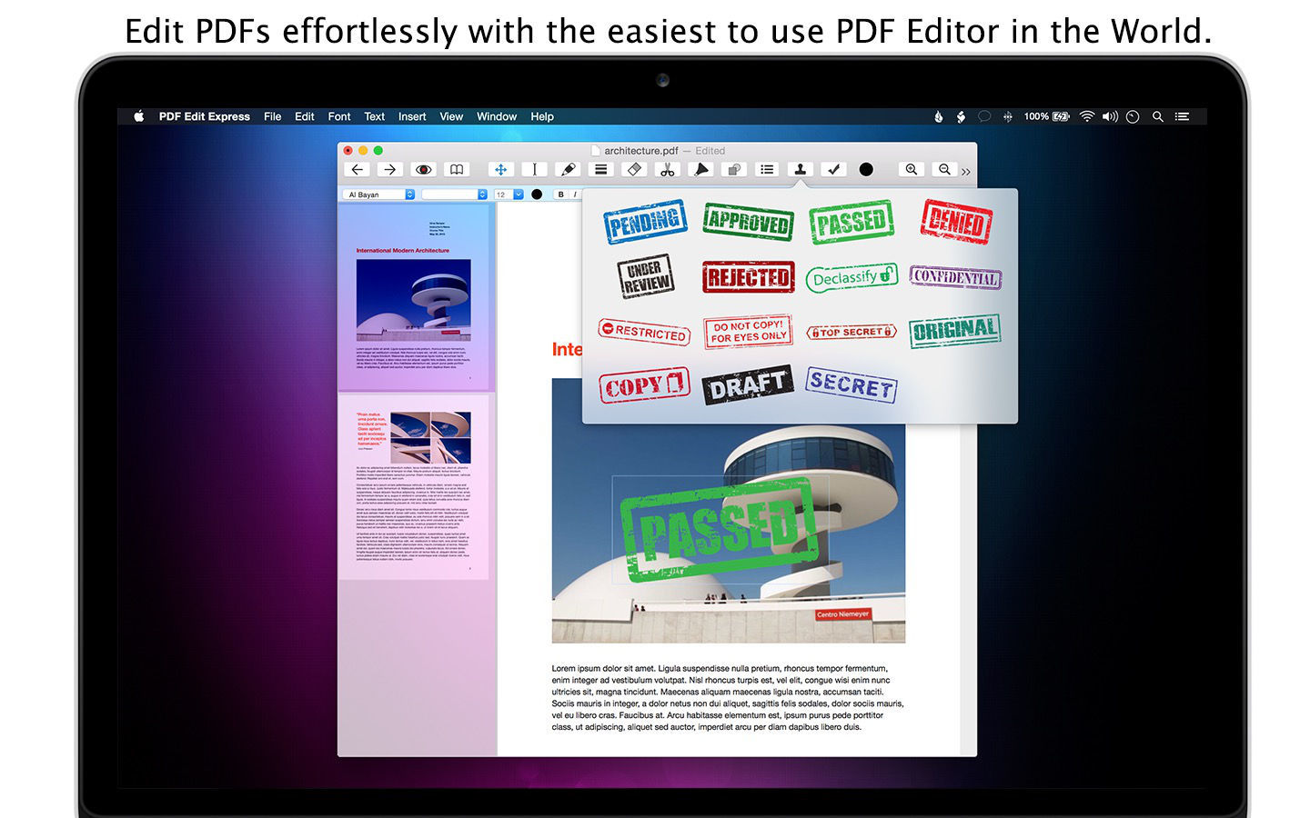 Screenshot 3 for PDF Edit Express