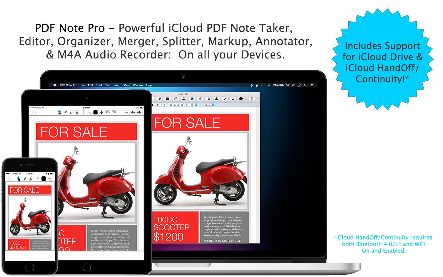 Screenshot 1 for PDF Note Pro