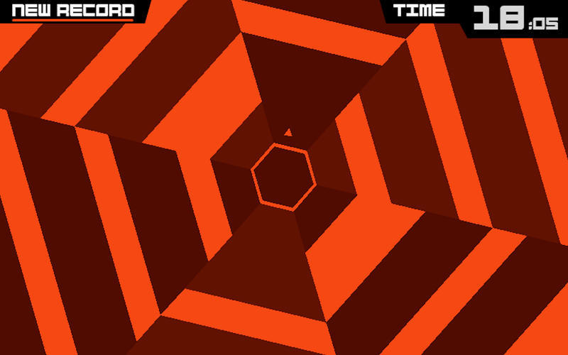 Screenshot 1 for Super Hexagon