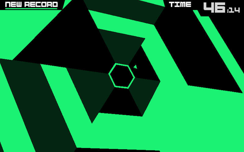 Screenshot 2 for Super Hexagon