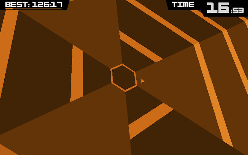 Screenshot 3 for Super Hexagon