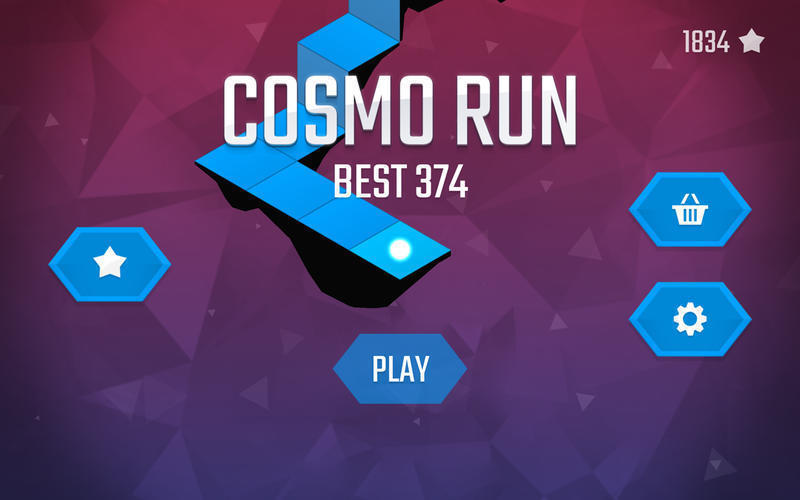 Screenshot 1 for Cosmo Run