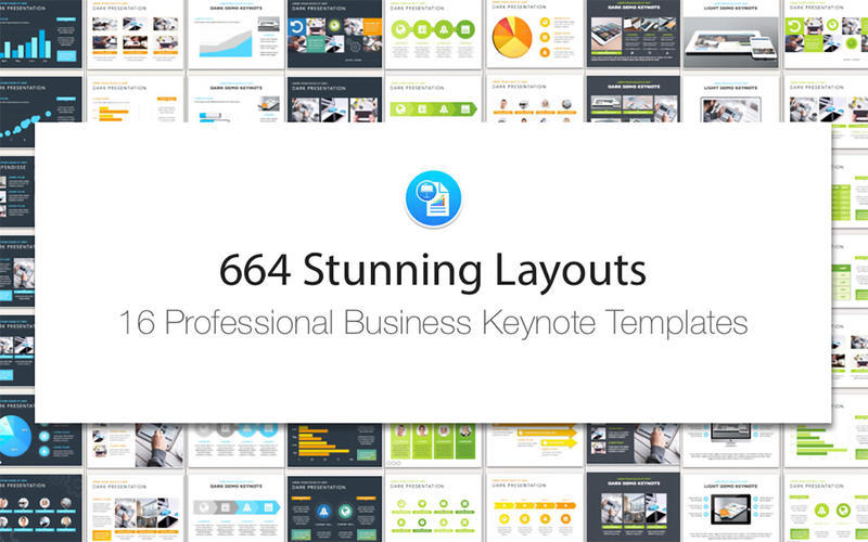 Screenshot 2 for Business Templates for Keynote