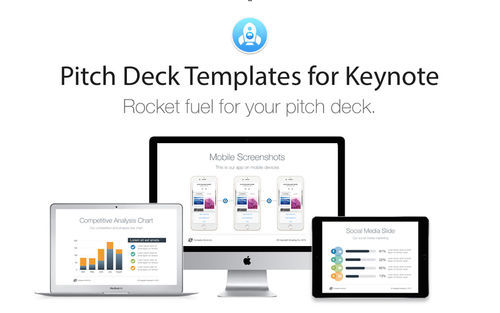 Screenshot 1 for Pitch Deck Templates for Keynote