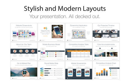 Screenshot 2 for Pitch Deck Templates for Keynote