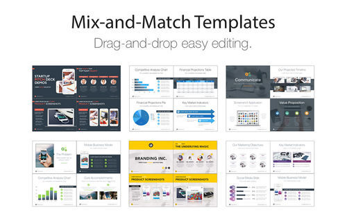 Screenshot 3 for Pitch Deck Templates for Keynote