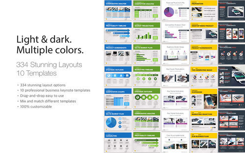 Screenshot 5 for Pitch Deck Templates for Keynote
