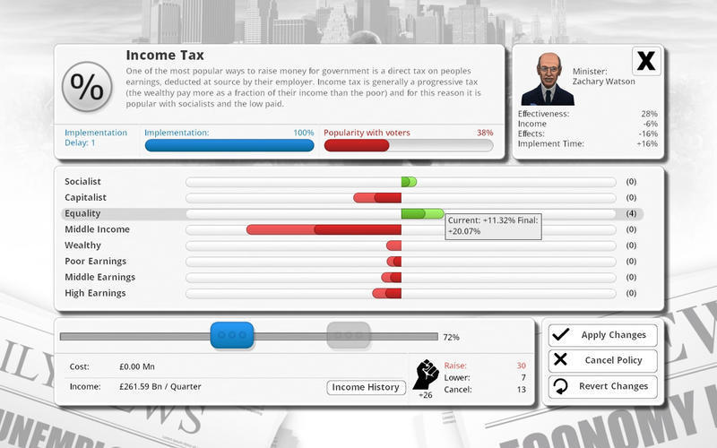 Screenshot 2 for Democracy 3