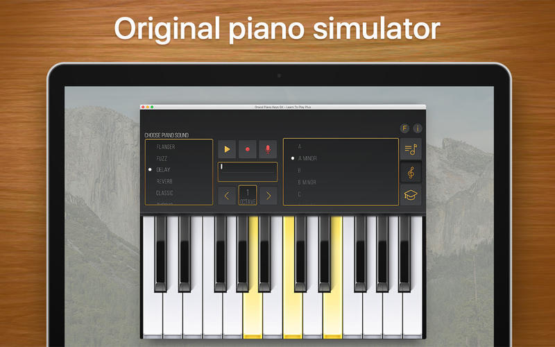 Screenshot 1 for Grand Piano Keys 5K