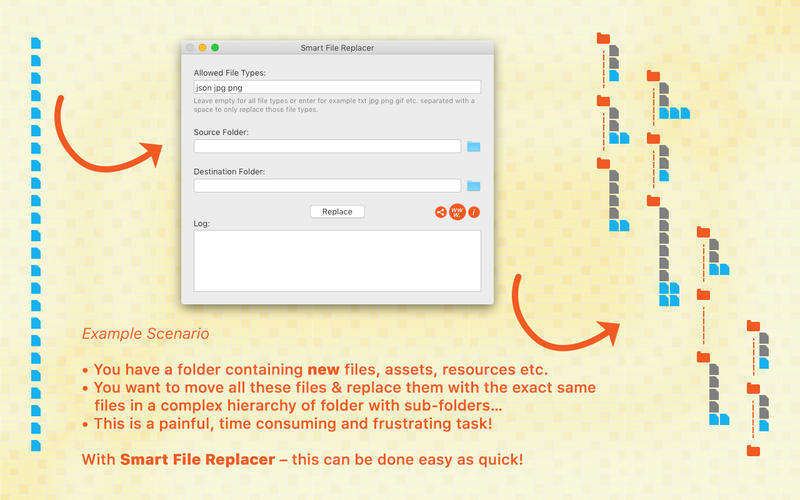 Screenshot 2 for Smart File Replacer