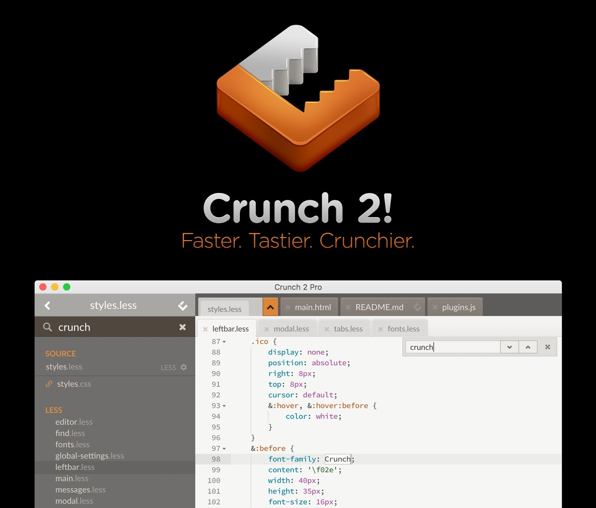 Screenshot 1 for Crunch