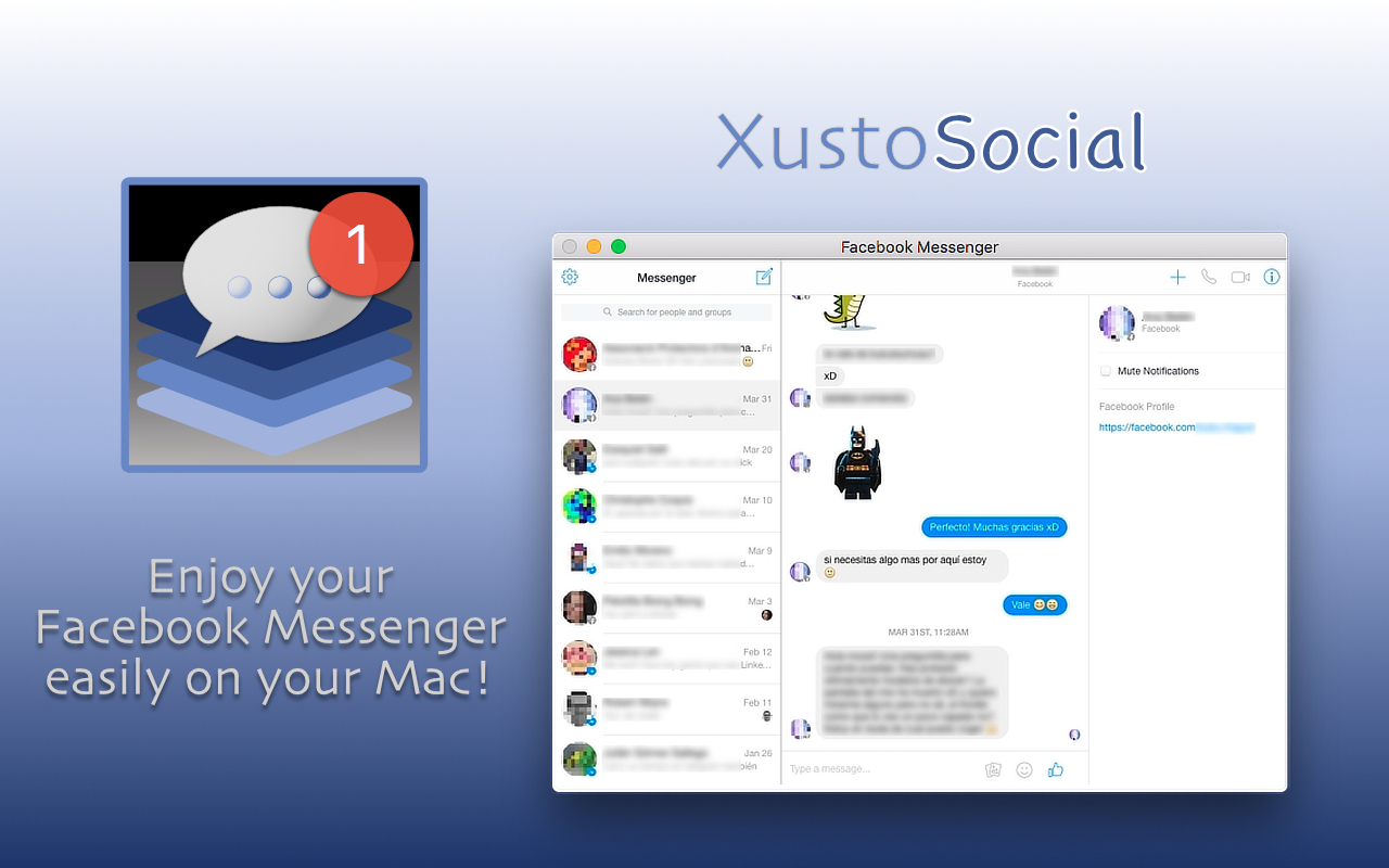 Screenshot 1 for XustoSocial