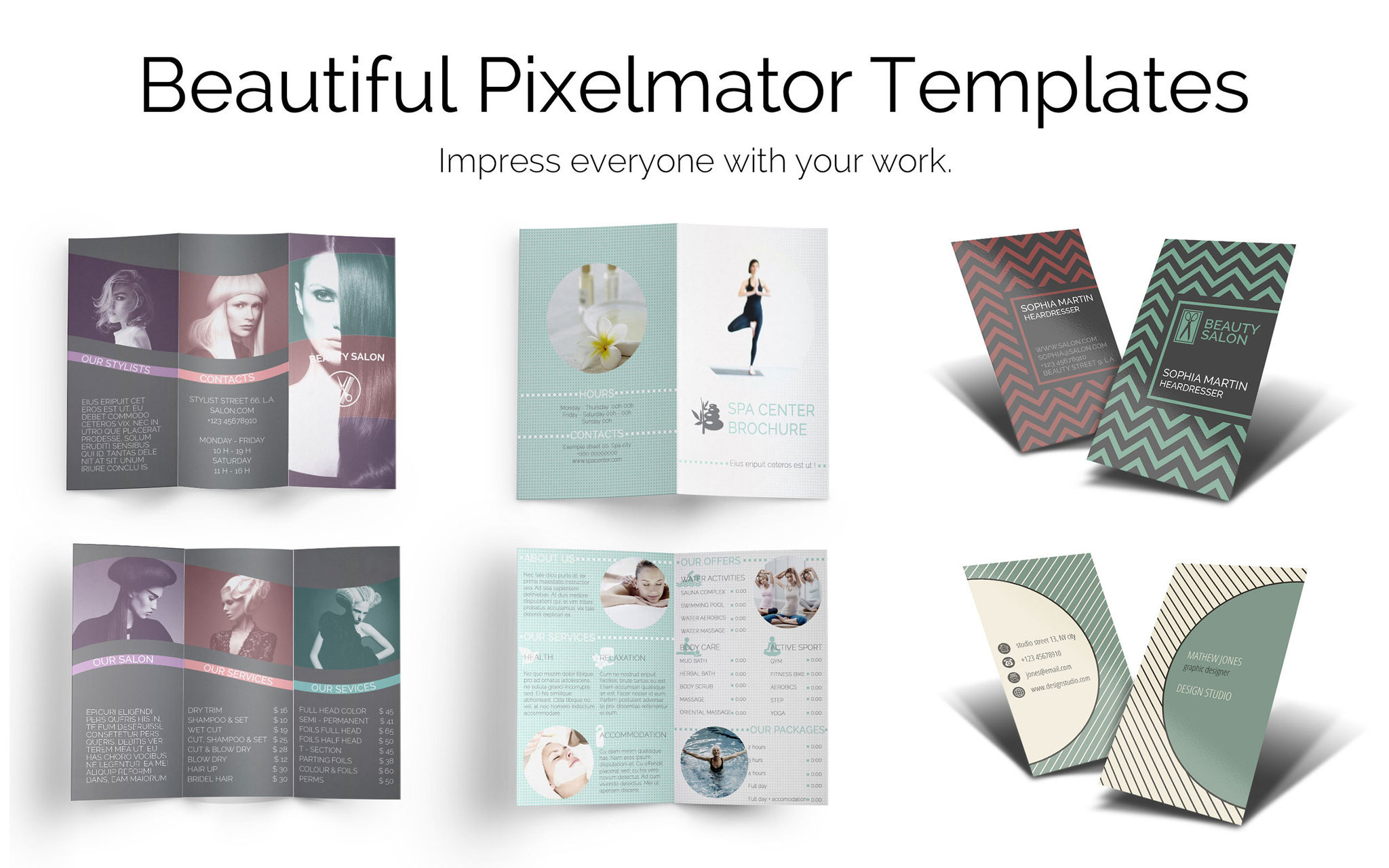Screenshot 1 for Templates for Pixelmator