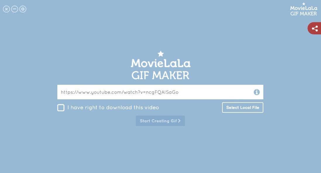 Screenshot 1 for Gif Maker