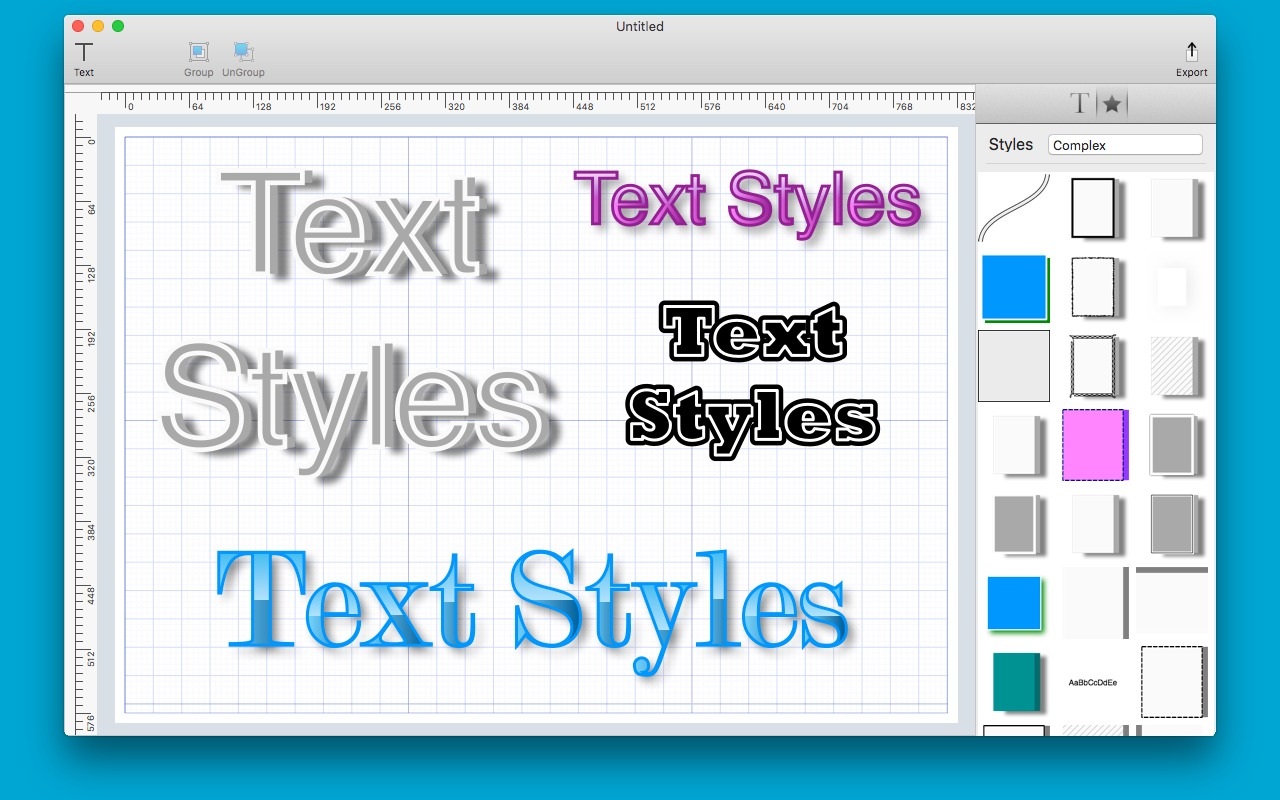 Screenshot 2 for Text Styles