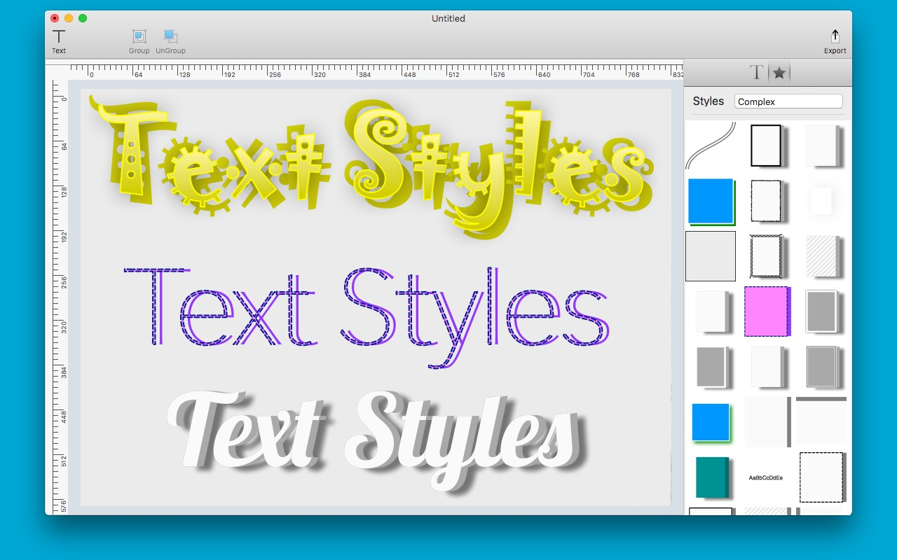 Screenshot 3 for Text Styles
