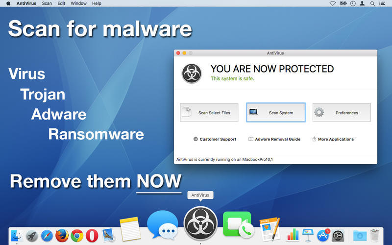 Screenshot 1 for AntiVirus