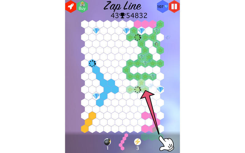 Screenshot 1 for Zap Line