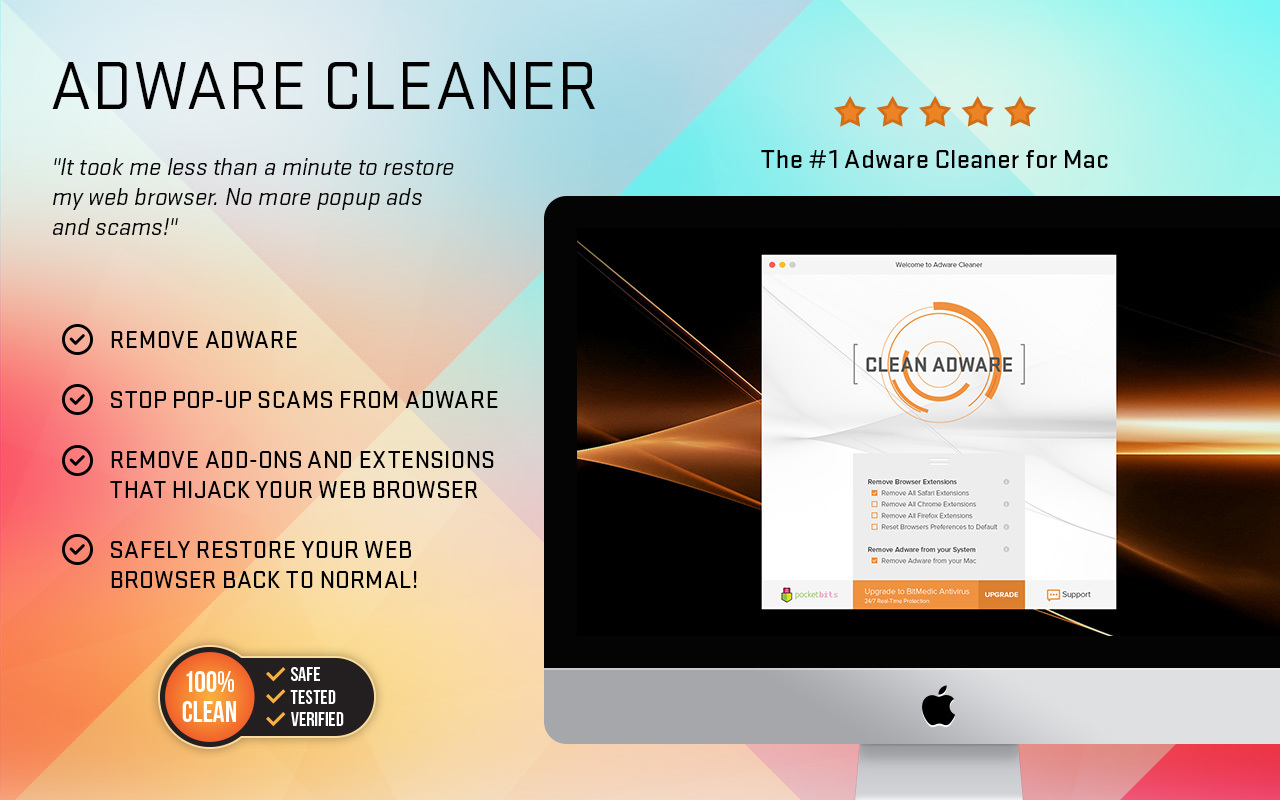 Screenshot 1 for Adware Cleaner