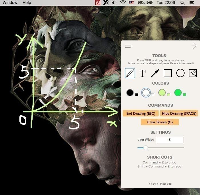 Vill Q for Mac 1.2.4 破解版 – 实用的屏幕绘图工具-爱情守望者