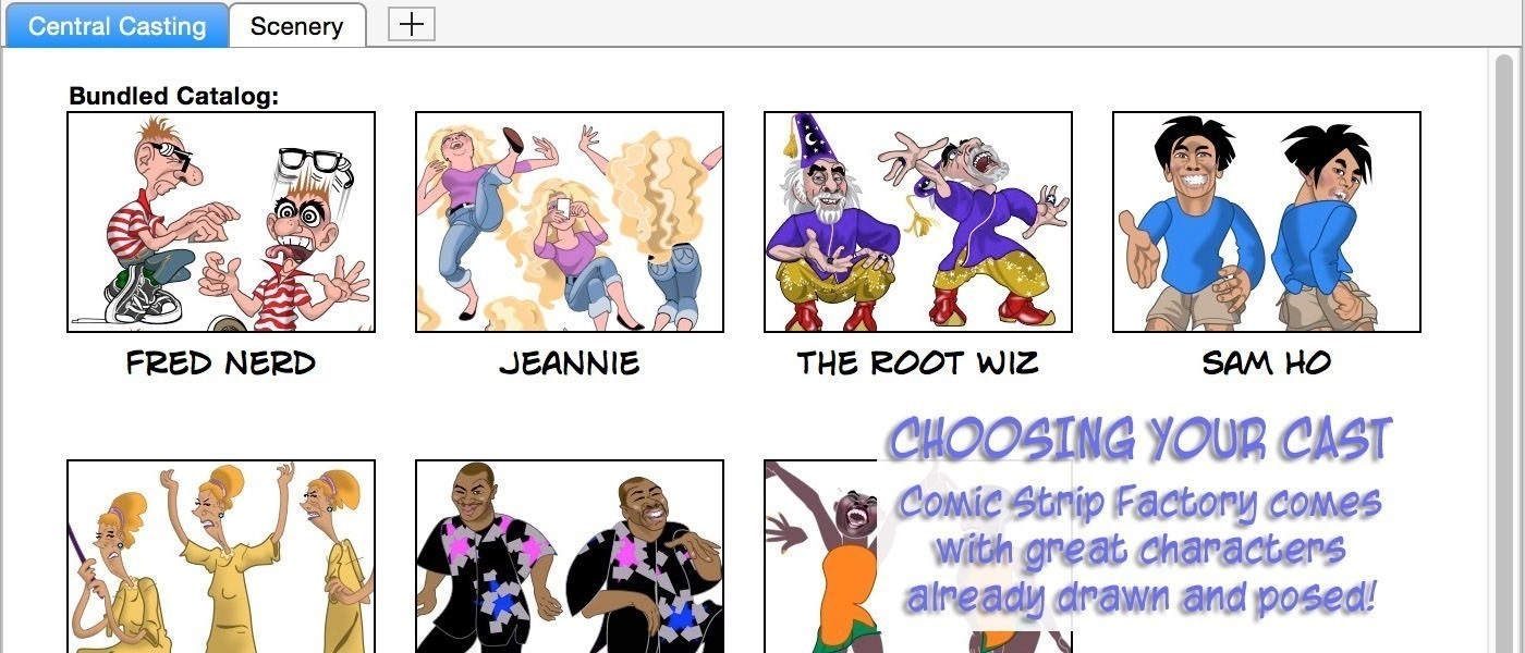Screenshot 3 for Comic Strip Factory