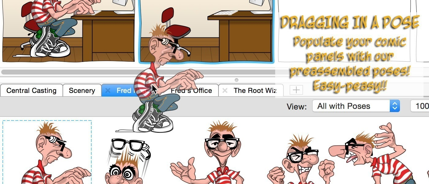 Screenshot 4 for Comic Strip Factory
