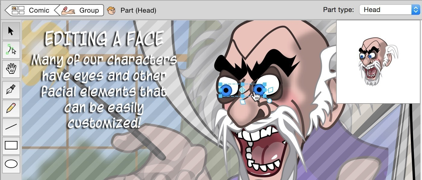 Screenshot 5 for Comic Strip Factory