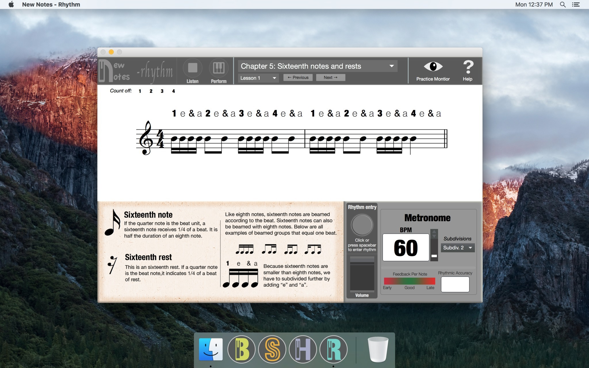 Screenshot 1 for New Notes - Rhythm