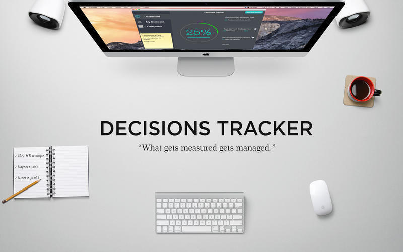 Screenshot 1 for Decisions Tracker