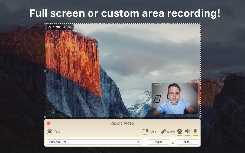 Screenshot 2 for Icecream Screen Recorder Pro