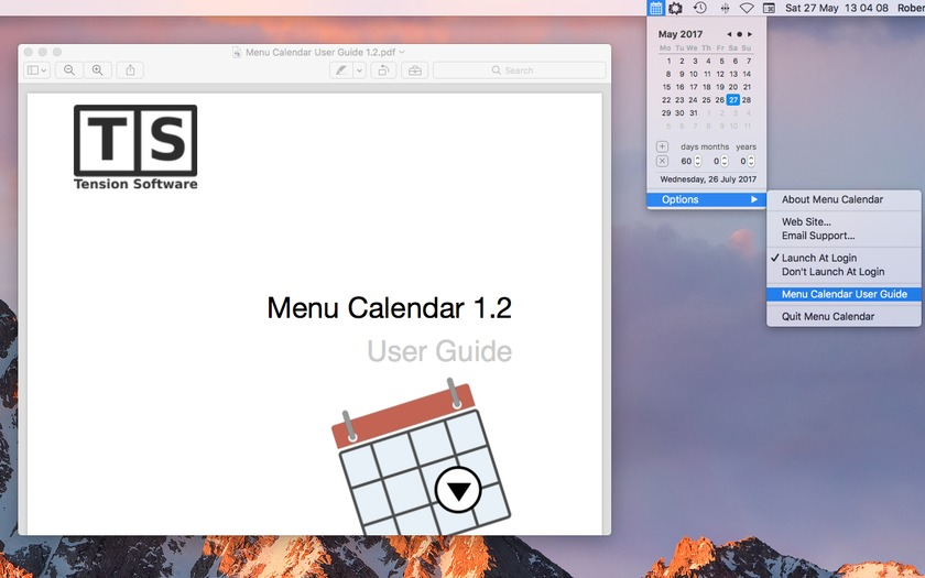 Screenshot 5 for Menu Calendar