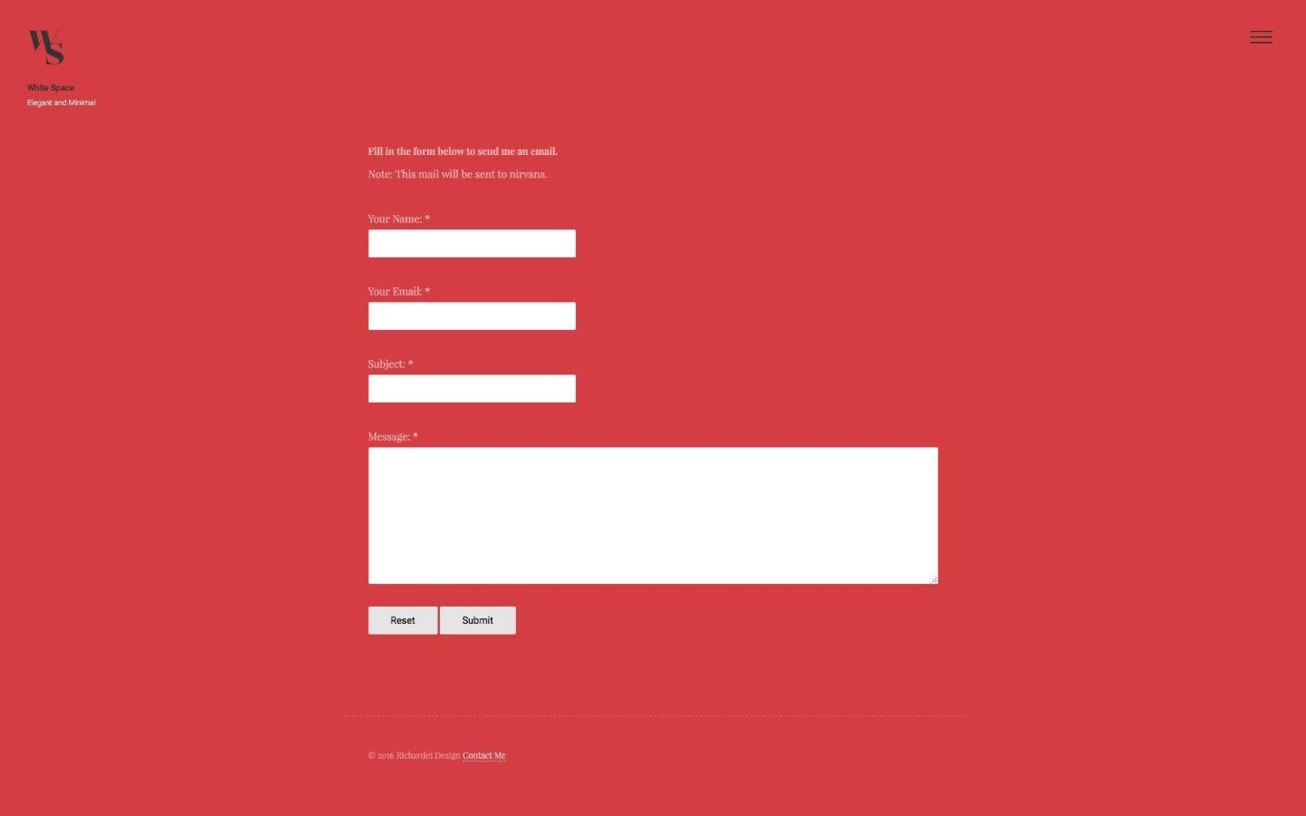 Screenshot 3 for Whitespace Theme