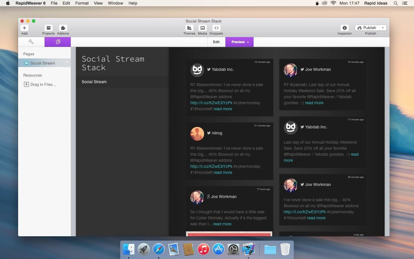 Screenshot 2 for Social Stream Stack