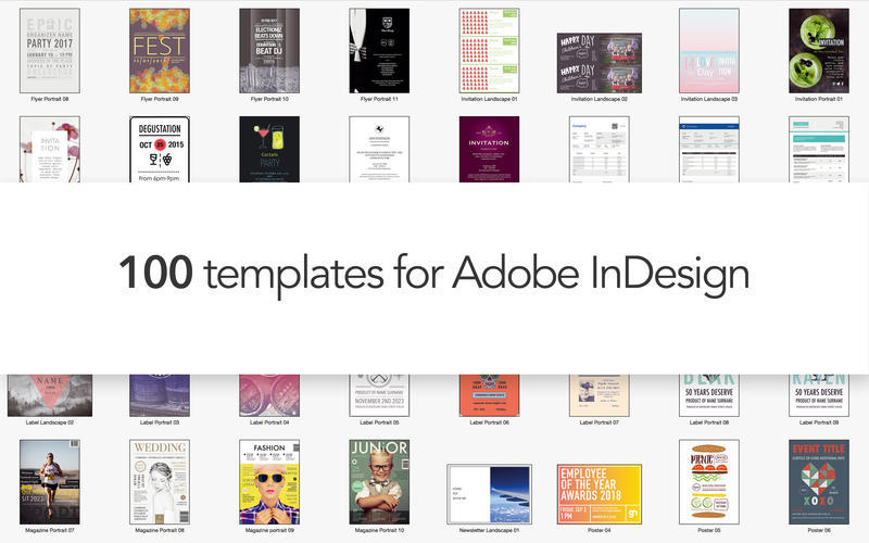 Templates for InDesign 2.0 purchase for Mac | MacUpdate
