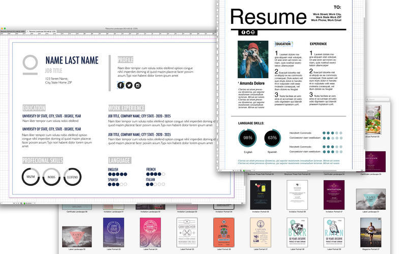 Screenshot 3 for Templates for InDesign