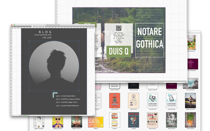 Screenshot 4 for Templates for InDesign