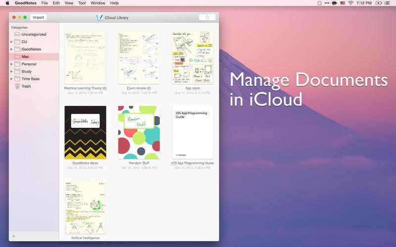 Good Notes Mac