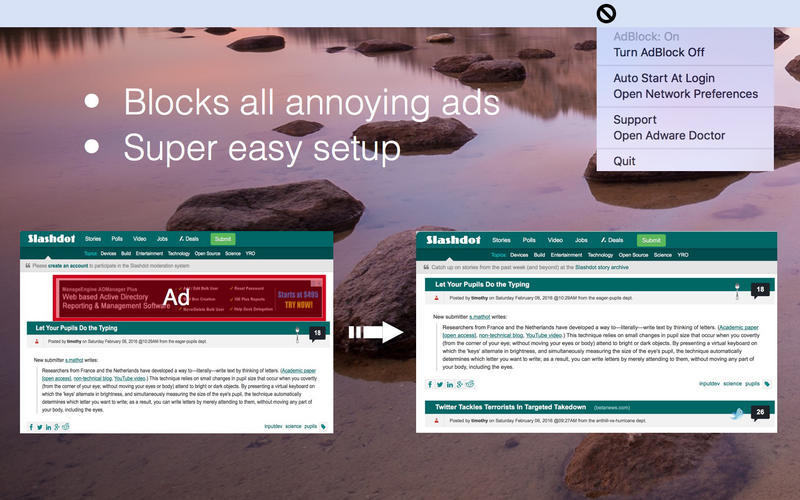 Screenshot 1 for AdBlock Master
