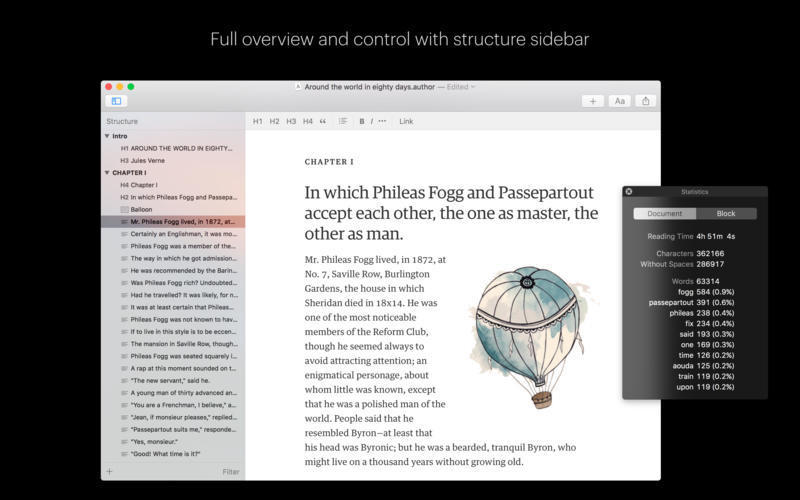 Screenshot 3 for Author