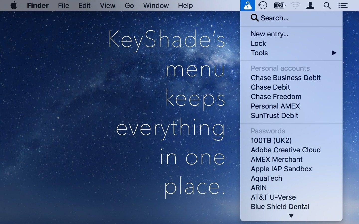 Screenshot 2 for KeyShade