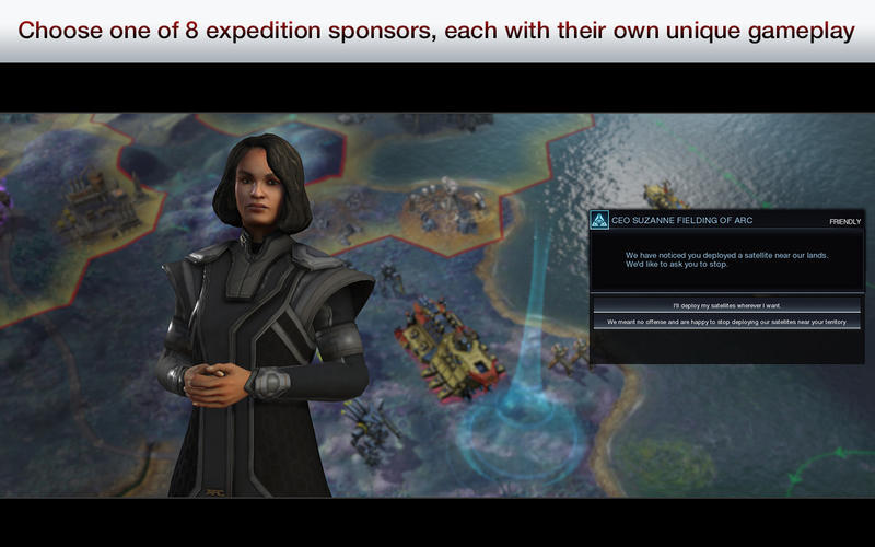 Screenshot 2 for Civilization: Beyond Earth