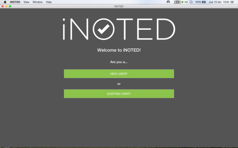 Screenshot 1 for iNOTED