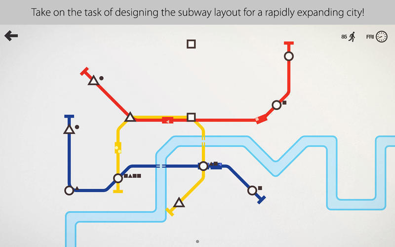 Screenshot 1 for Mini Metro