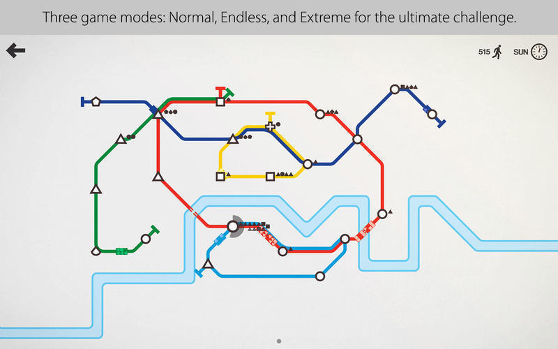 Screenshot 2 for Mini Metro