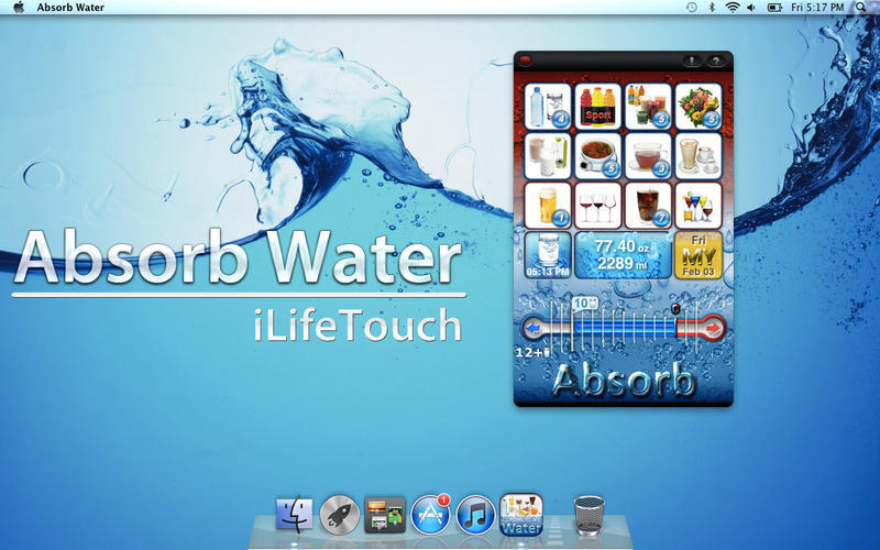Screenshot 1 for Absorb Water