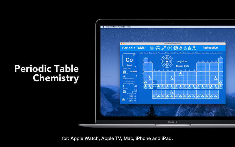 Periodic table chemistry 37 free download for mac macupdate screenshot 1 for periodic table chemistry urtaz