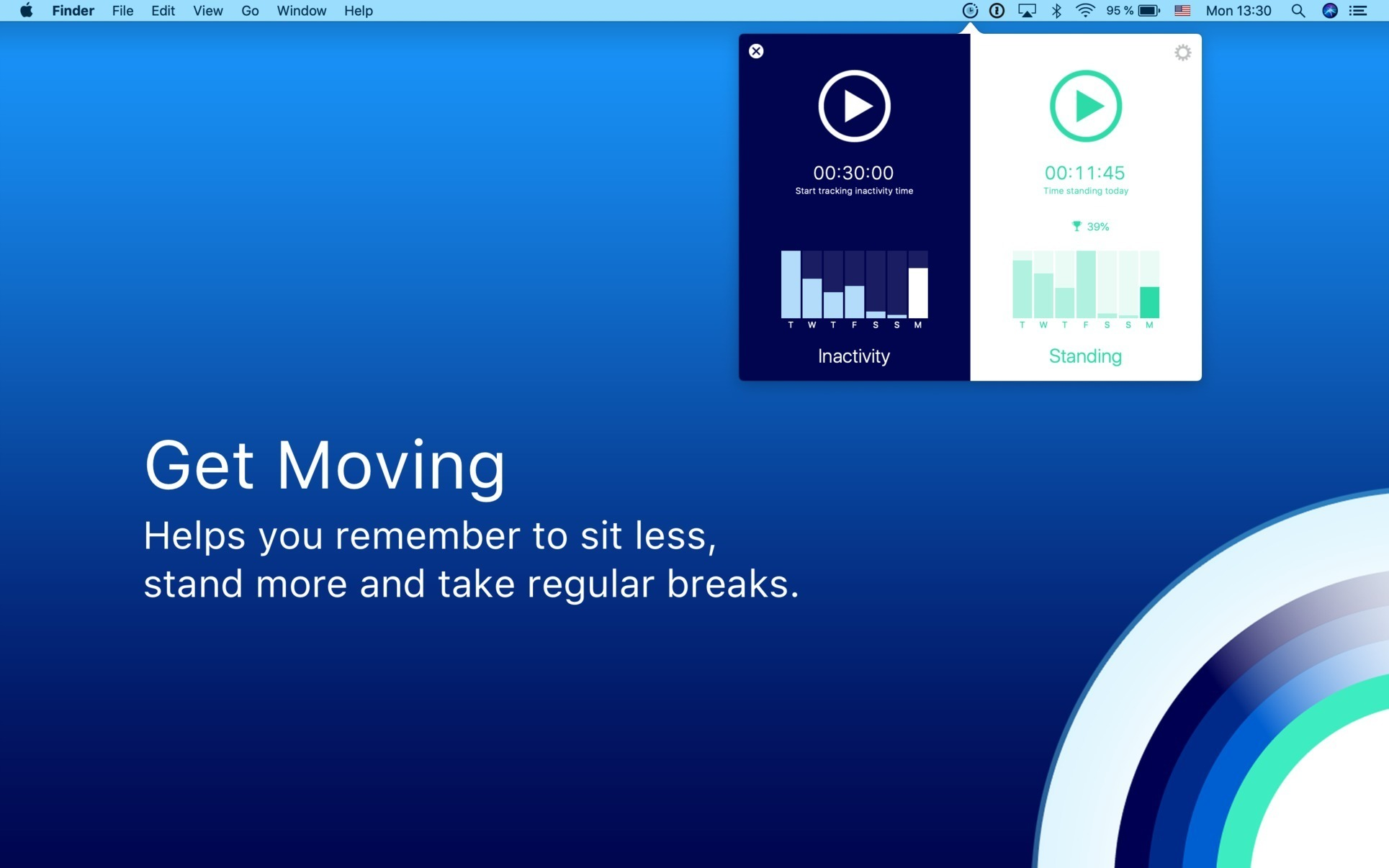 Screenshot 1 for Get Moving