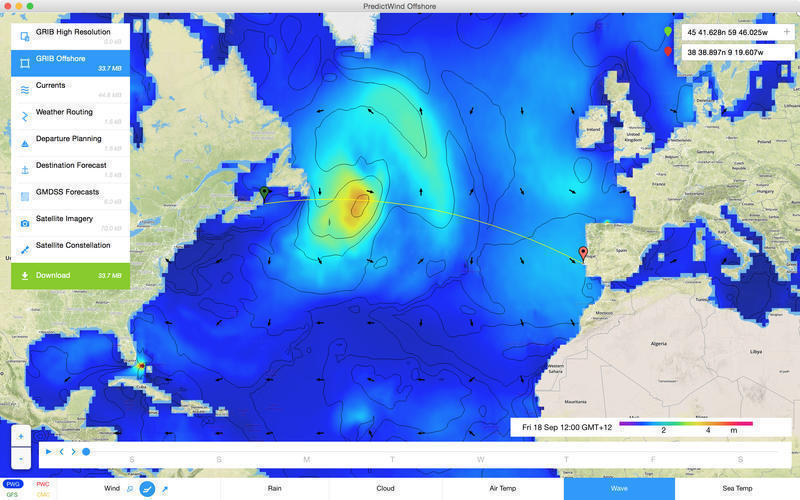 Screenshot 3 for PredictWind Offshore